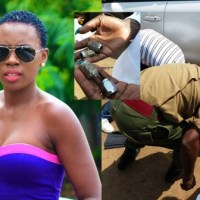 Akothee involved in accident at Westlands Nairobi