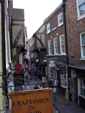 Picture of the Shambles York England