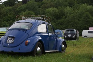 Betsy the 1969 Beetle at Dubs in't Dales