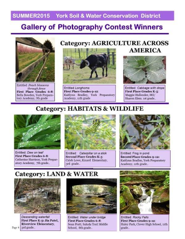 York Conservation District