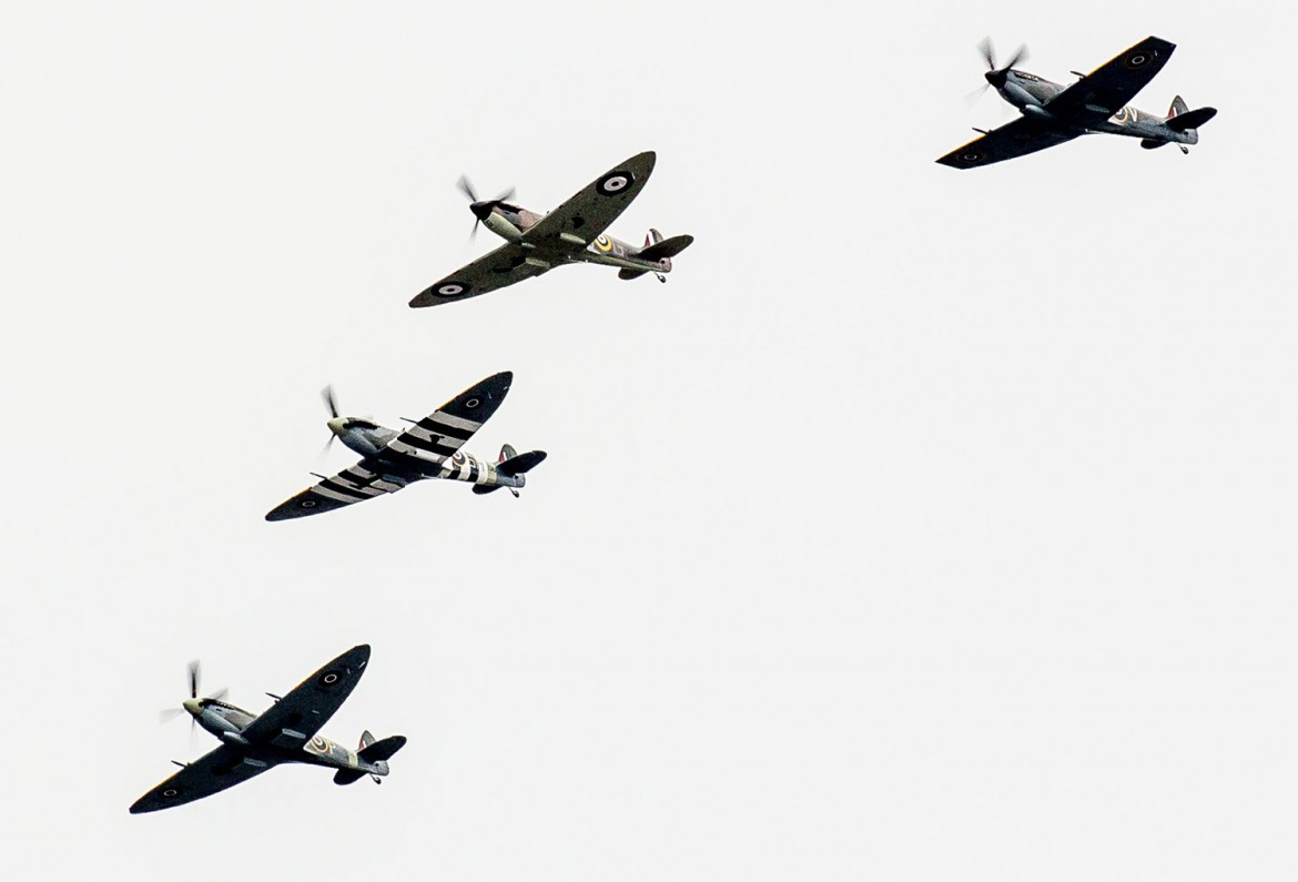 Video And Pix Of The Spitfire Flypast Over York A