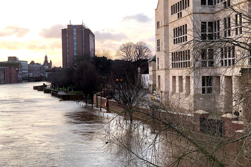 Pictures Here S The River In York City Centre Today