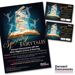 Posters and Tickets Designed and Printed