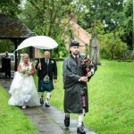 Wedding Bagpiper Selby Bolton Percy