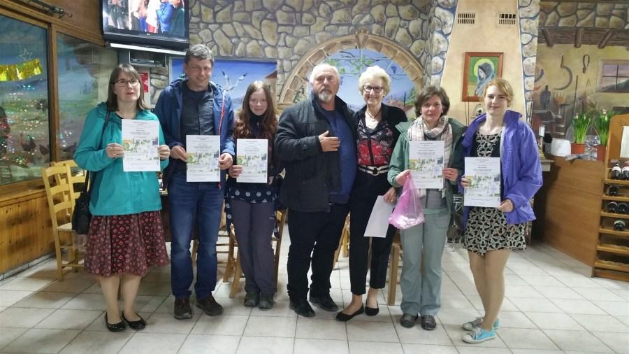 Presentation of certificates