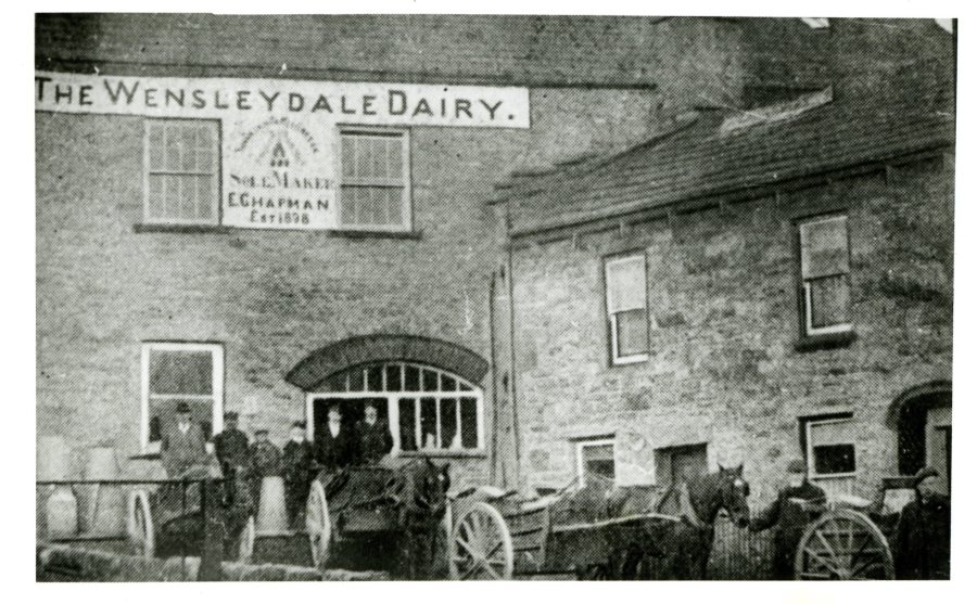 Wensleydale Dairy, 1908. Dales Countryside Museum collection