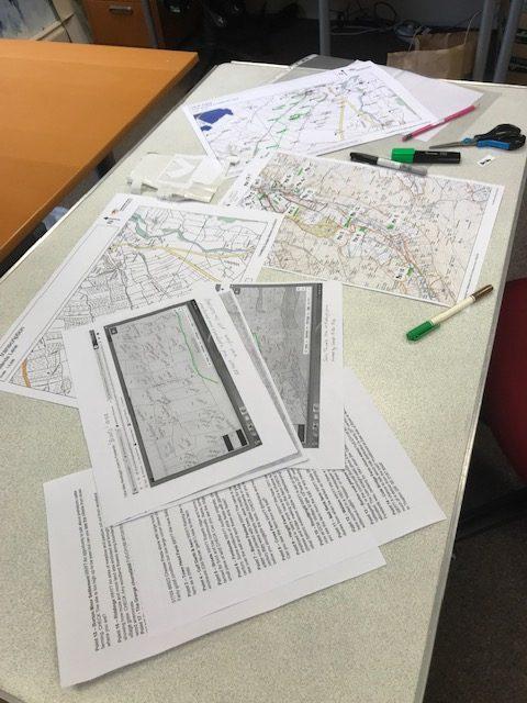 West Burton Trail research in progress