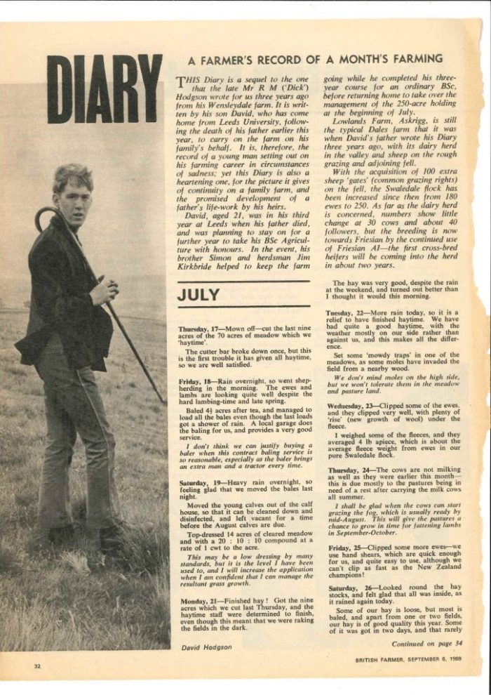 British Farmer article p1