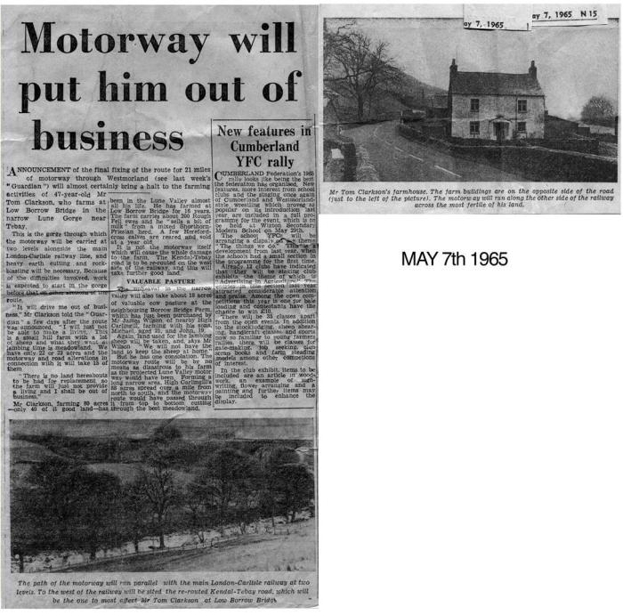 Newspaper clippings. Courtesy of Heather Ballantyne