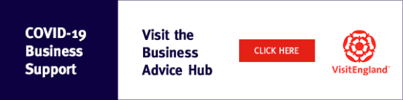 Covid-19 Business support logo and link to their resources.