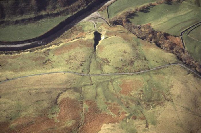 Fairmile Road - aerial photo, © YDNPA, 2004, (YDP3/12). From the Out of Oblivion website