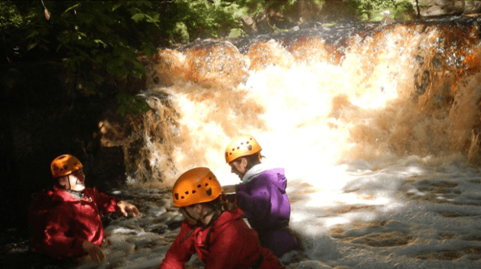 Low Mill Outdoor Centre Gorge Walking
