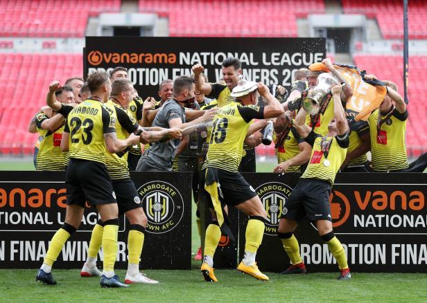 Harrogate Town 3 Notts County 1 - Harrogate enjoy Wembley play-off ...