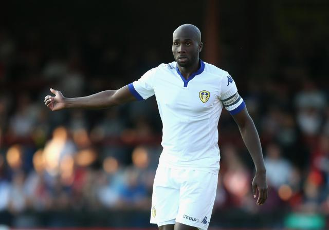 Sol Bamba during his Leeds United days playing a pre-season friendly match against York City at Bootham Crescent on July 15, 2015.