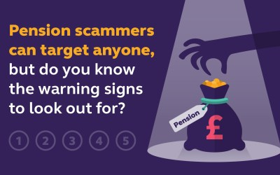 Watch out for the fraudsters!