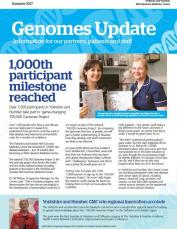 Sign up for a copy of the  Genomics Newsletter