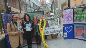 The genomics team at St Stephen's Shopping Centre, Hull