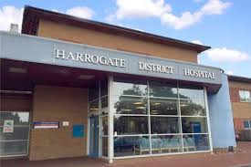 Harrogate District Hospital - outside shot of building