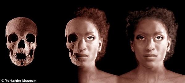 Ivory Bangle Lady - Roman York - Yorkshire Museum