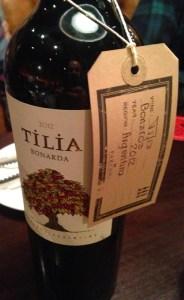 Argentinean wine at Fazenda Leeds