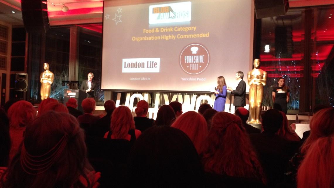 UK Blog Awards 2014
