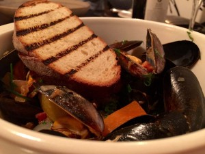 Mussels and Chorizo at Smith and Baker