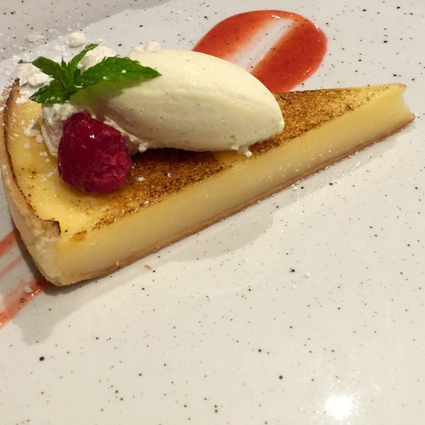 Lemon Tart at The Alice Hawthorn