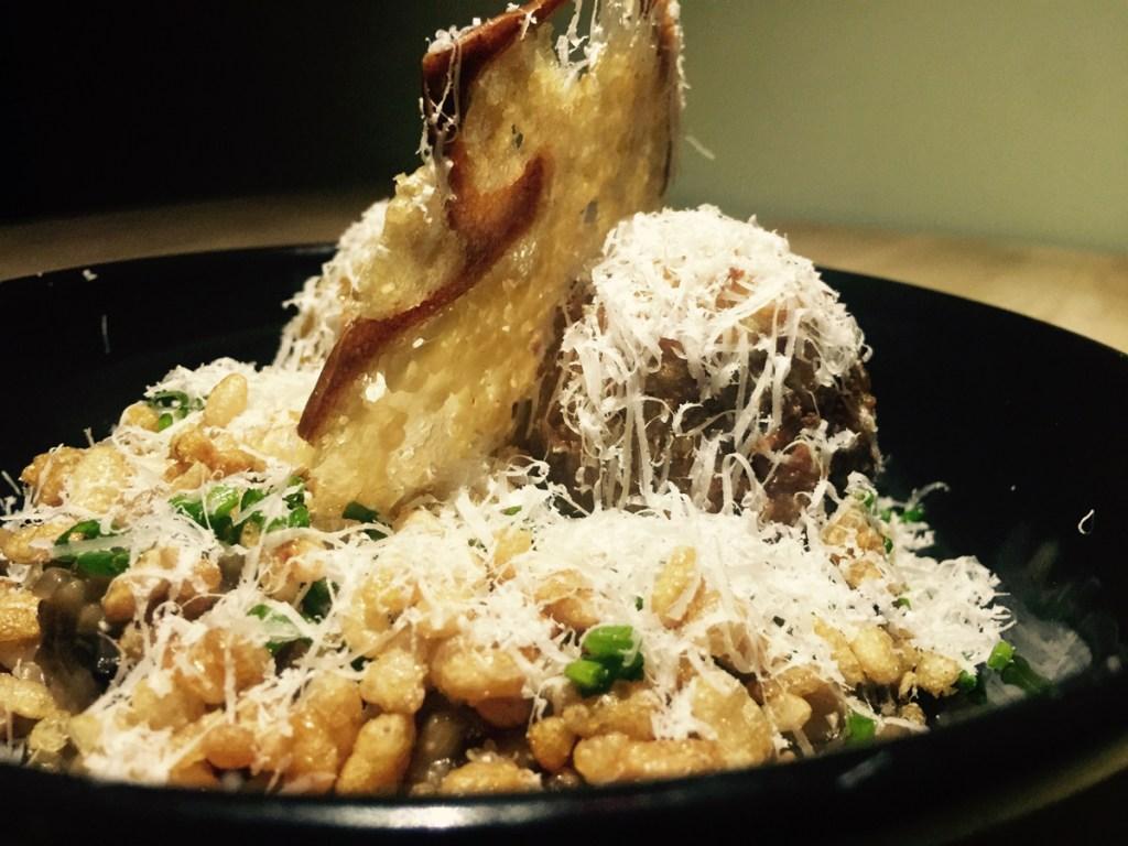 Crisp risotto at Mr Nobody