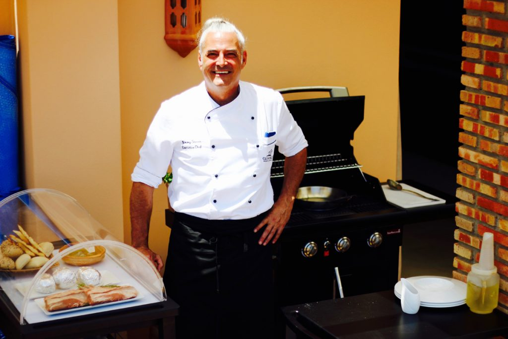 Private Chef Jimmy at Club Costa World
