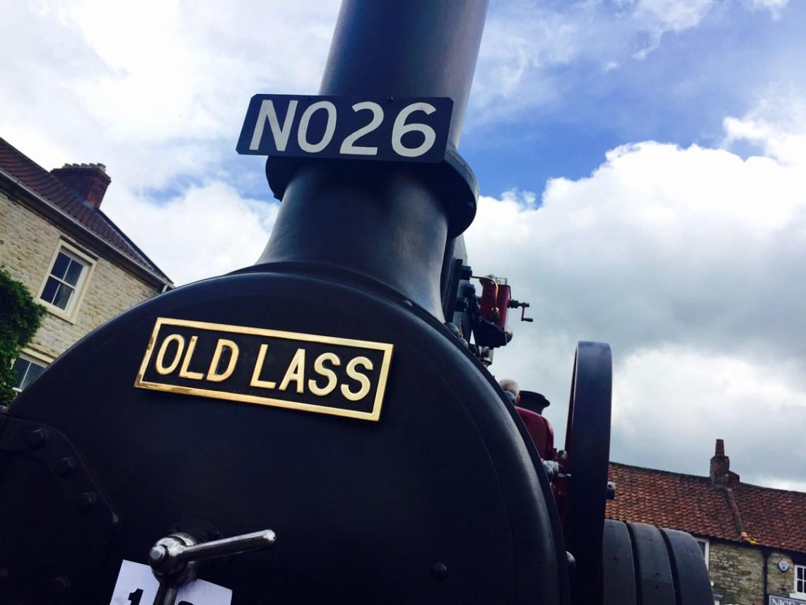 steam engine in helmsley near the black swan
