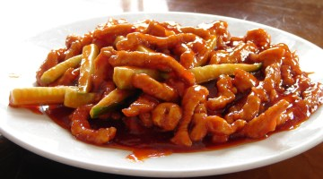 Sweet and Sour Pork in China