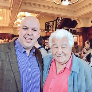 World Yorkshire Pudding Champion Chris Blackburn and Antonio Carluccio