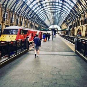 Virgin Trains East Coast at Kings Cross Station