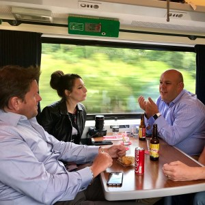 In conversation with James Martin on Virgin Trains East Coast