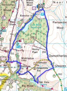 Sheepwash Oakdale Osmotherley Circular