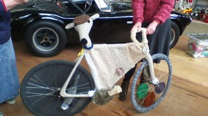 The bike called Compo, representing Holmfirth