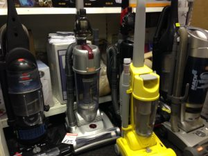 Banned: Some of the hoovers that are now outlawed