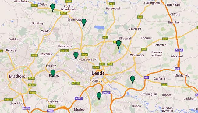 Leeds's green flag parks 2015