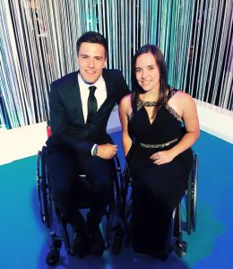 Callum and Jade at the Sports Industry Awards
