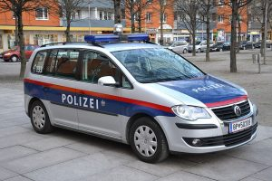 Austrian federal police car