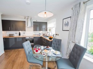 Cloisters Walk, Holiday Let, york, york stay, kitchen