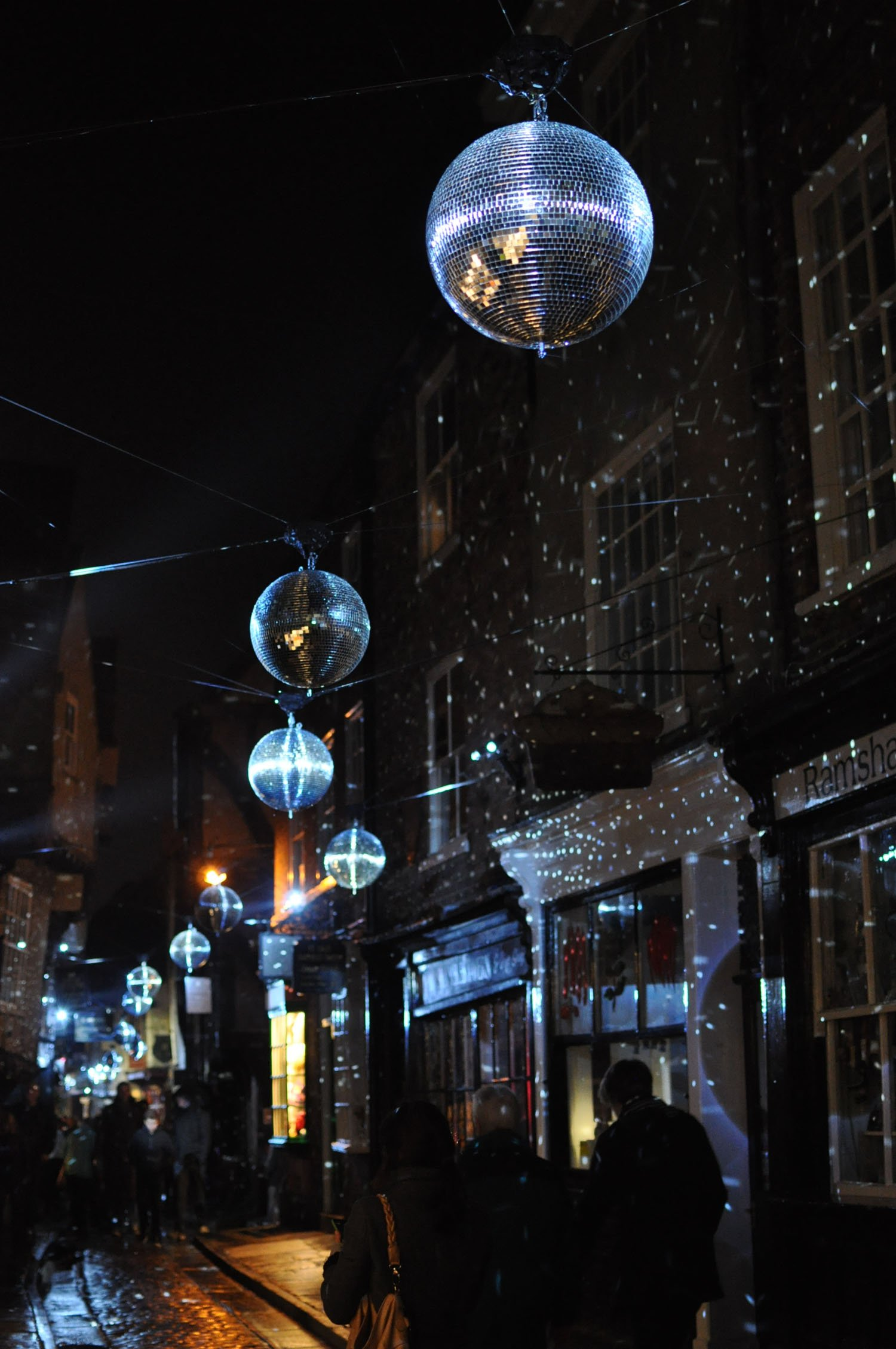 Illuminating York 2015 - The Shambles
