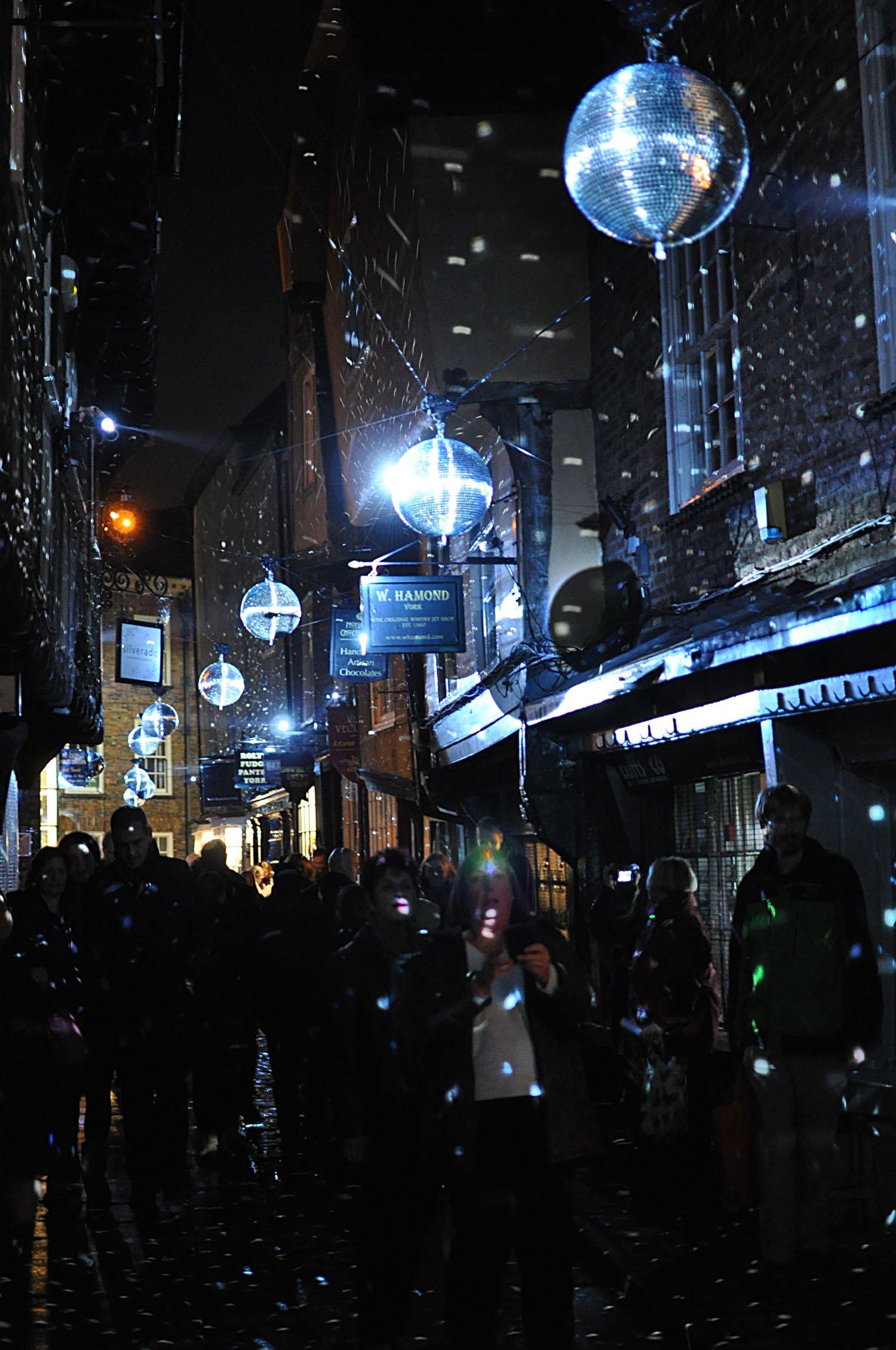 Illuminating York 2015 - The Shambles