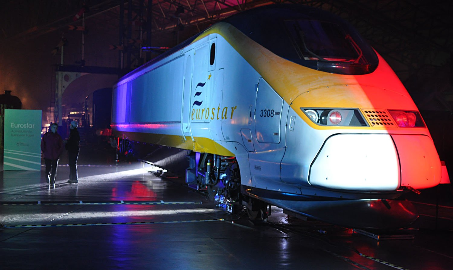 National Railway Museum York - Eurostar Loco
