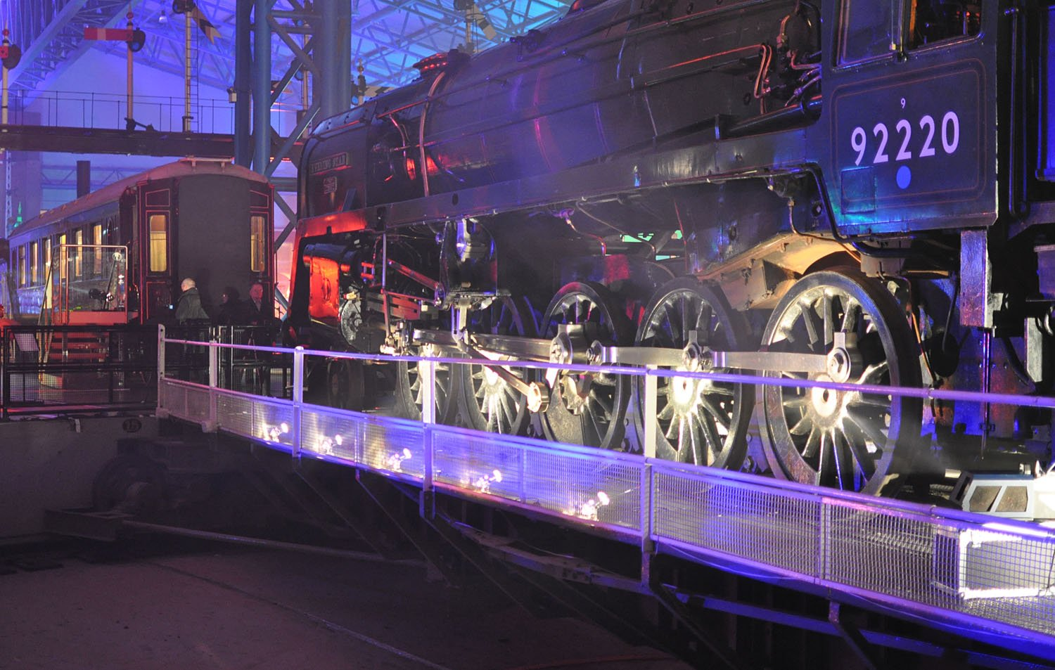 National Railway Museum York - Illuminating York 2015