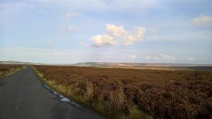 View across the york moors