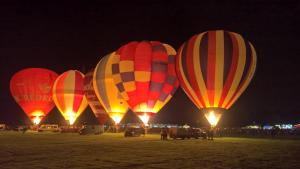 Hot Air Balloon night glow - York Balloon Fesival