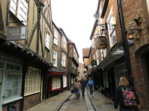 Picture from Ron and Lida - The Shambles York