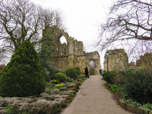 Picture from Ron and Lida - Ruins in York Museum Gardens