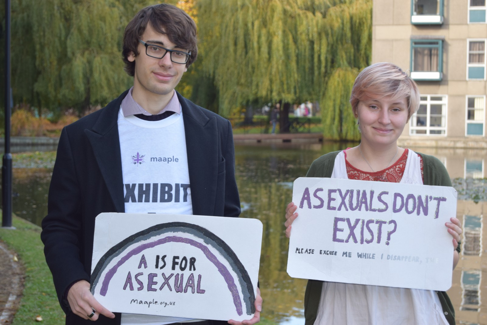 Asexual people